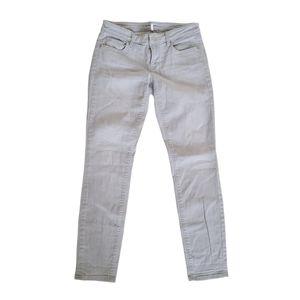 LOFT Modern Skinny Grey Jeans